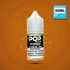 POP CLOUDS THE SALT - BUTTERSCOTCH CANDY 30ML