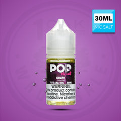 POP CLOUDS THE SALT - GRAPE CANDY 30ML