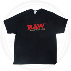 RAW T-SHIRT - MENS BLACK SHIRT