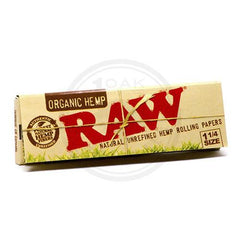 RAW - ORGANIC 1/1/4 ROLLING PAPERS