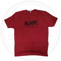 RAW T-SHIRT - RAWLIFE RED SHIRT