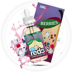 7 DAZE REDS BERRIES ICED 60ML VAPE EJUICE 1 OAK WHOLESALE