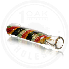 "3"" RASTA DICRO WORK CHILLUM"