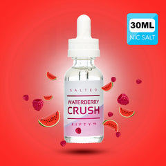 SALT DROPS - SALTED WATERBERRY CRUSH 30ML