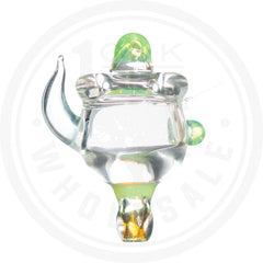 HORNED BUBBLE DIRECTIONAL & DUAL CARB CAP 1 OAK WHOLESALE