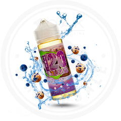 THE 120 E-LIQUID - BLUEBERRY MUFFIN 120ML