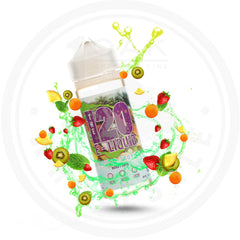 THE 120 E-LIQUID - FROSTED TROPICS 120ML