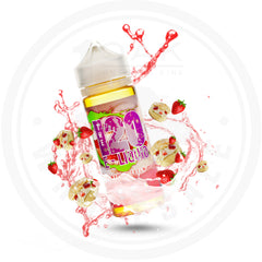 THE 120 E-LIQUID - STRAWBERRY CREAM PUFF 120ML