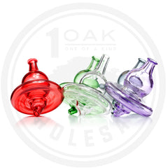 DUAL COLORED GLASS CARB CAP