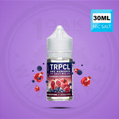 TRPCL ONE HUNDRED - BLUEBERRY POMEGRANATE NIC SALT 30ML