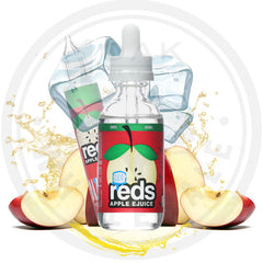 7 DAZE - REDS APPLE EJUICE (ICED) 60ML (msrp $24)
