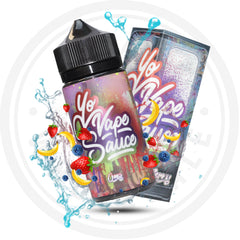 YO VAPE SAUCE - STRAWBERRY BLUEBERRY BANANA 100ML