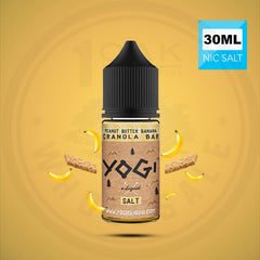 YOGI ELIQUID SALTS - PEANUT BUTTER BANANA 30ML