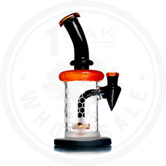 BLACK AND ORANGE FROSTED HONEYCOMB RIG
