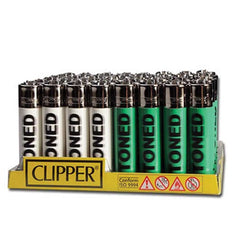 CLIPPER LIGHTER - STONED BLURRY