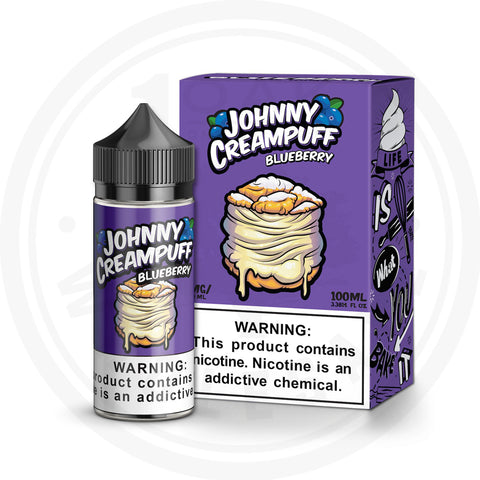 TINTED BREW - JOHNNY CREAMPUFF BLUEBERRY 100ML