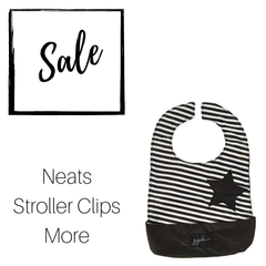 CLEARANCE - Ju-Ju-Be Be Sets, Be Neats, and Stroller Clips