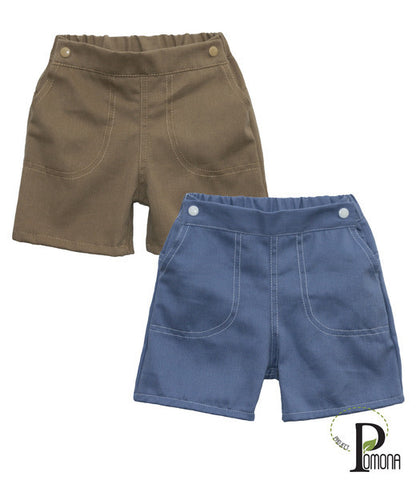 Project Pomona Eco Fit Adjustable Waist Twill Shorts