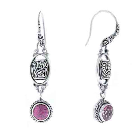 PURE PINK™ MYSTIC TOPAZ EARRINGS