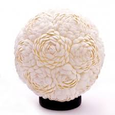 Rose Bud Shell Lamp