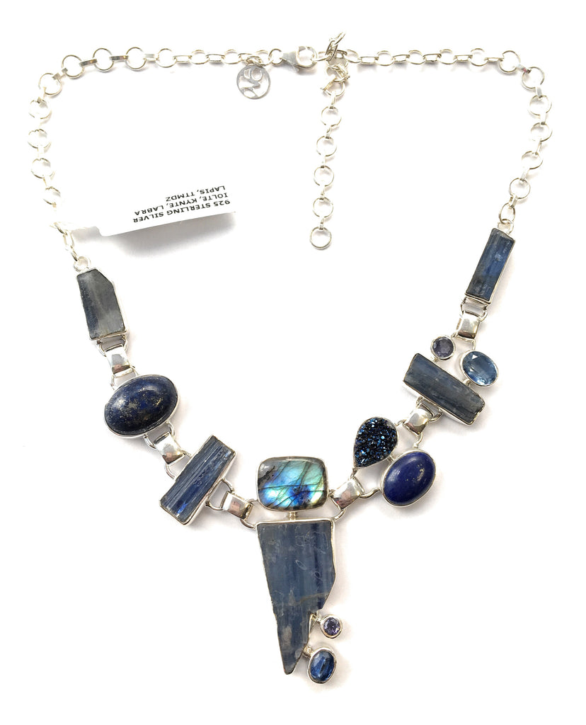 Kyanite Labradorite Necklace