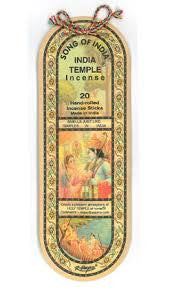 Song of India: Temple Incense, 25 grams