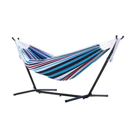 Vivere's Combo – Double Hammock with Stand (9ft)