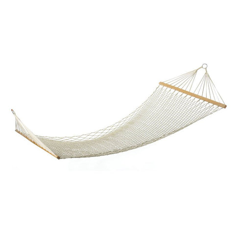 Zingz & Thingz Wide Cotton Rope Hammock