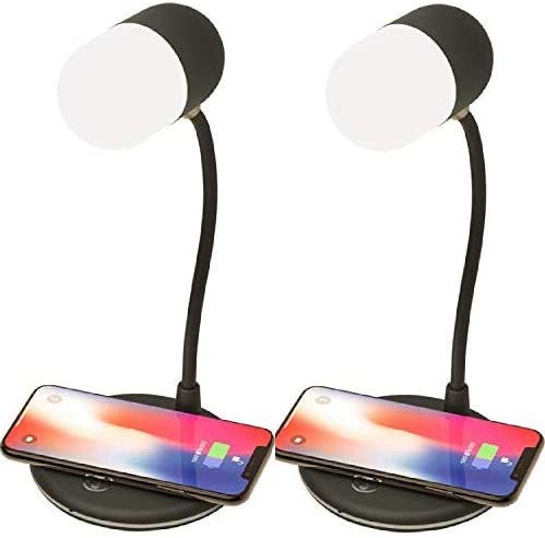 Led Desk lamp with QI Wireless Smart Charger