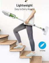 TOPPIN Bendable Corded Stick Vacuum Cleaner /Green