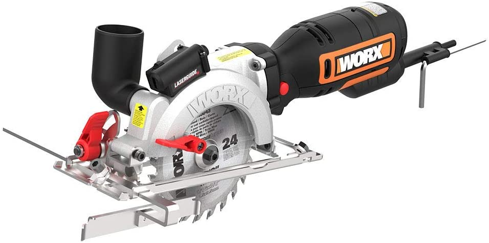 Corded Compact Circular Saw With 6 Saw Blades , 240 Volts.