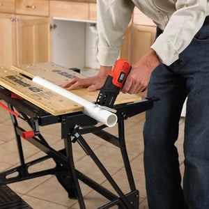 Jig Saw, Cordless, Compact, Battery Powered, 2.1 Pounds, Cuts wood up to 1 inch thick..