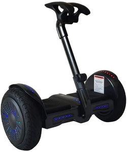 "Bluetooth App Management 10"" Tires Smart Self-Balancing Electric Scooter"