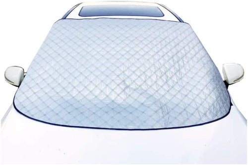 Windshield Snow Cover with 4 Layers Protection Winter Frost Snow Ice Cover Auto Sun Shade