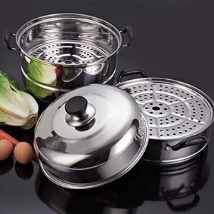 VONOTO Steaming Cookware, Cookware Steamer Pot