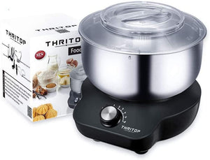 THRITOP Stand Mixer Food Mixers, with 5QT Mixing Bowl for Bread and Dough