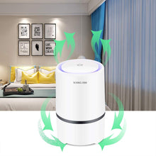 Air Purifier with Night Light,Desktop USB Air Cleaner.