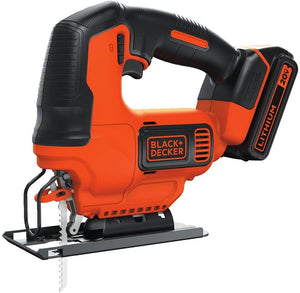 Jig Saw with Battery And Charger ,Variable speed trigger, Battery Powered..