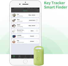 Padlock Shaped Green Wireless Bluetooth Anti Lost Tracker for Keys, Pets, Handbag, Mobile Phone, Etc w/Built-In Camera Shutter Control. | iOS & Android Compatible.