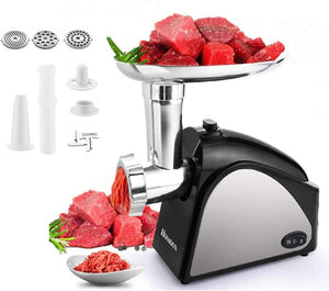 Electric Meat Grinder, Upgraded 2000W Stainless Steel Food Grinder