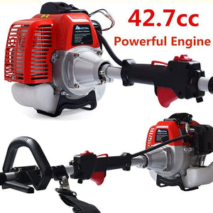 2-Cycle Powerful Chainsaw Reach to 15 Foot Extendable Cordless Gas Long Reach Tree Trimmer