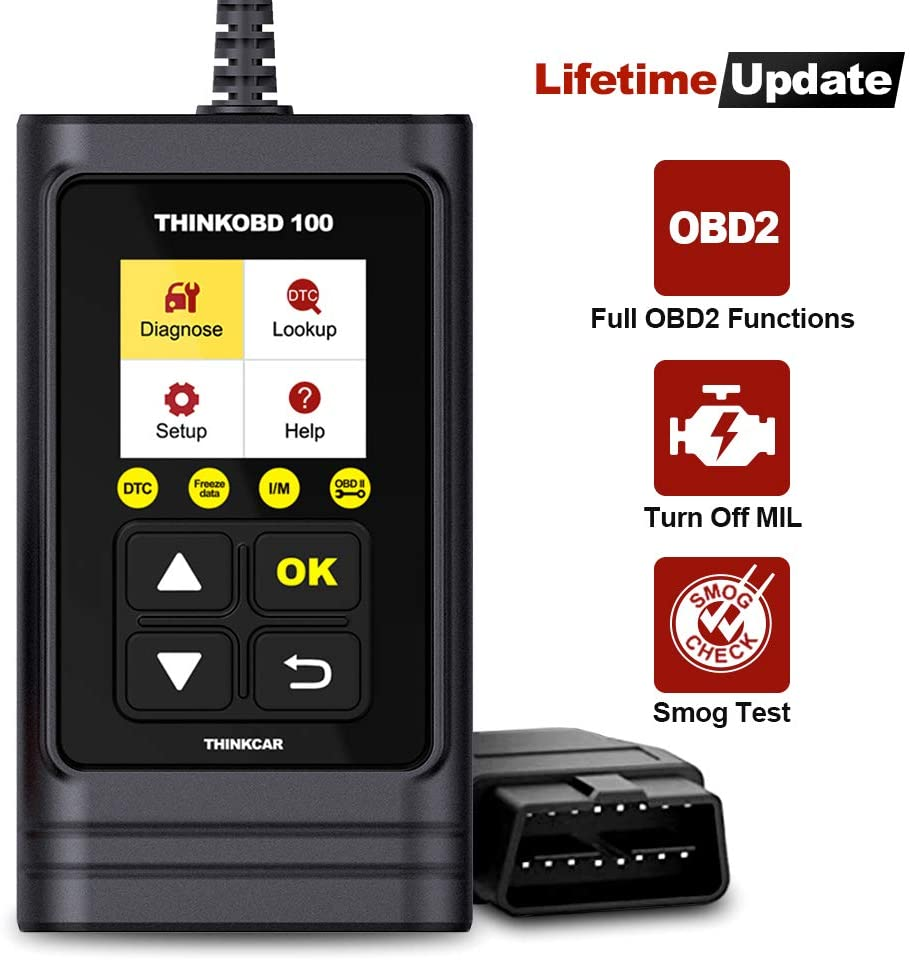 Check Engine Code Reader Automotive Car Diagnostic Tool/Car Code Scanner for O2 Sensor/EVAP System/Smog Test