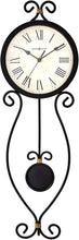 Wall Clock 625-495 – Modern Wrought-Iron with Quartz Movement.