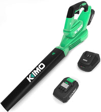 Cordless Leaf Blower Battery-Operated Blower for Blowing Leaves, Snow, Debris and Dust.
