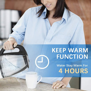 Kettle with 4Hrs Keep Warm Function & Boil-Dry