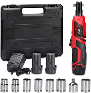 Cordless Electric Ratchet Wrench,12V Power Ratchet Wrenches Set
