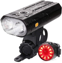 Rechargeable 800 Lumen Ultra Bright LED Bicycle Lights | Headlight & Taillight