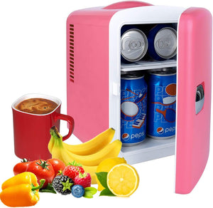 Mini Portable Compact Personal Fridge Chilling and Warming