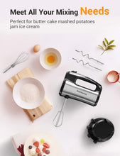 Elec homes Hand Mixer Electric, 300W Ultra Power Kitchen Handheld Mixers