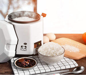Electric Lunch Box, Travel Rice Cooker Small, Removable Non-stick Pot
